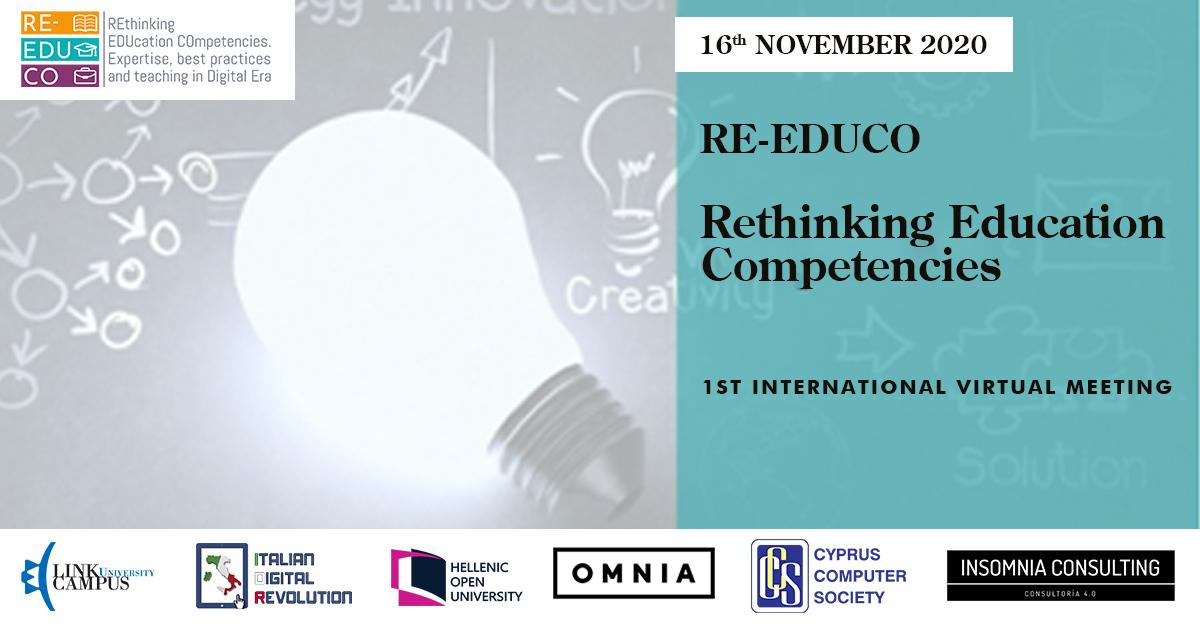 RE-EDUCO. 1st Virtual Meeting