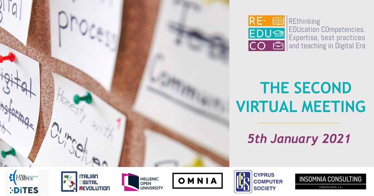RE-EDUCO. 2st Virtual Meeting
