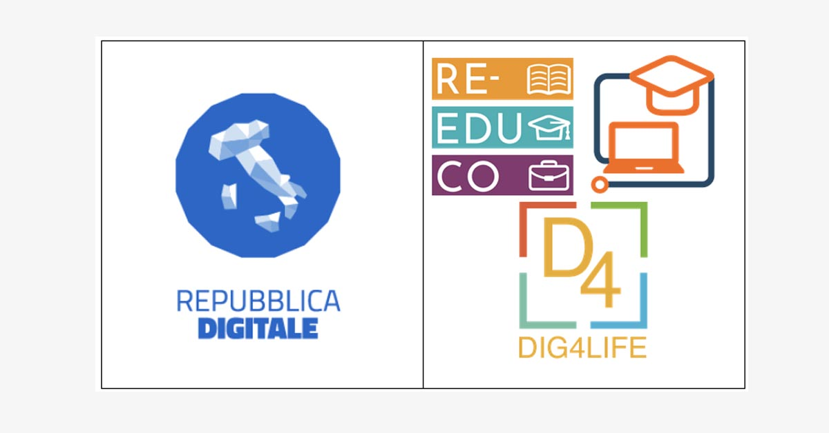 RE-EDUCO and ECOLHE projects have been included among the official resources of Repubblica Digitale